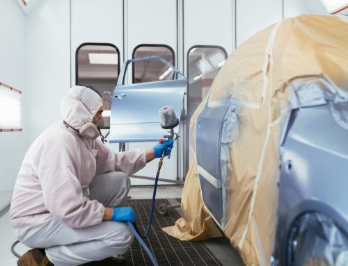 La verniciatura della macchina – Quarta fase della lavorazione carrozzeria